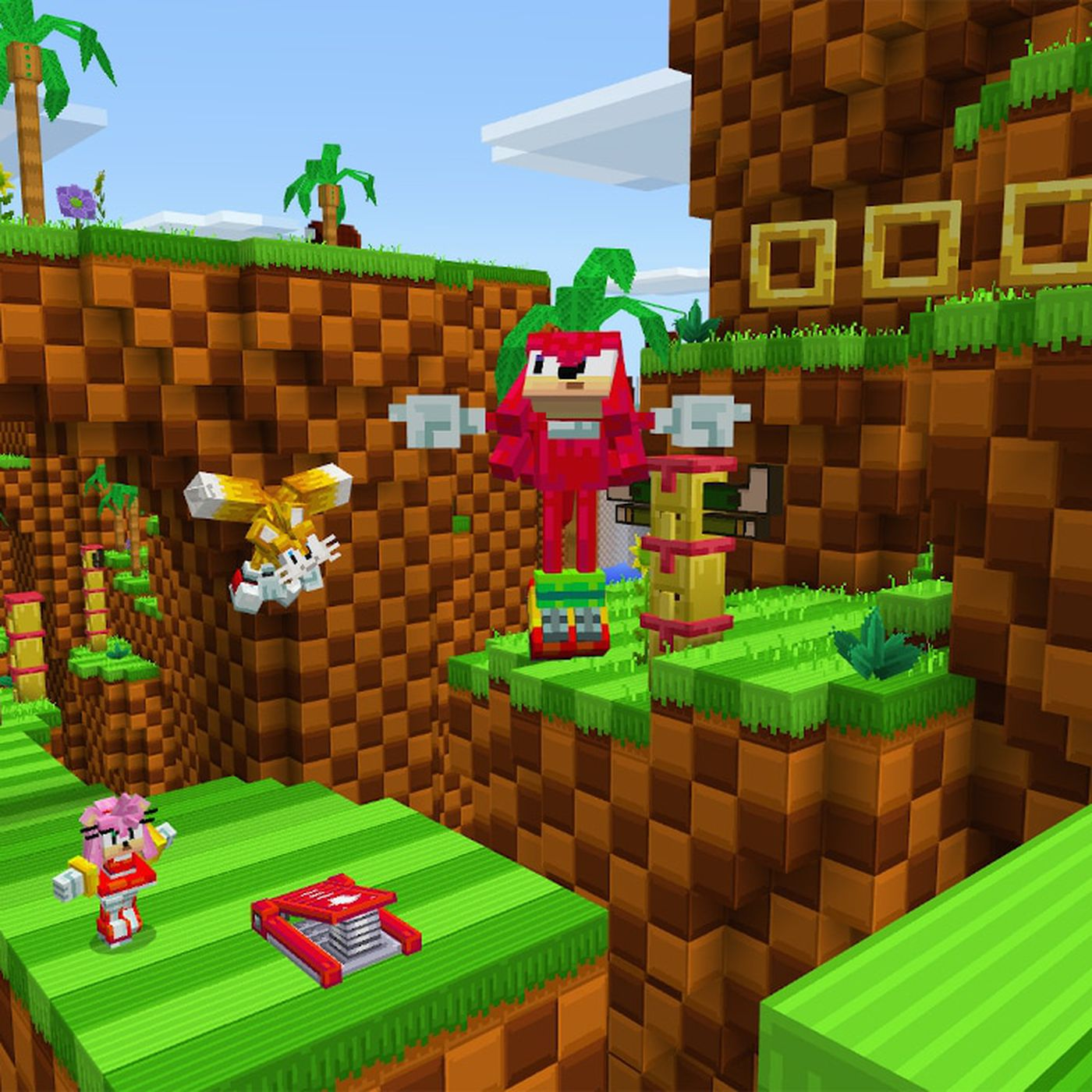 Sonic the Hedgehog comes to Minecraft   Polygon
