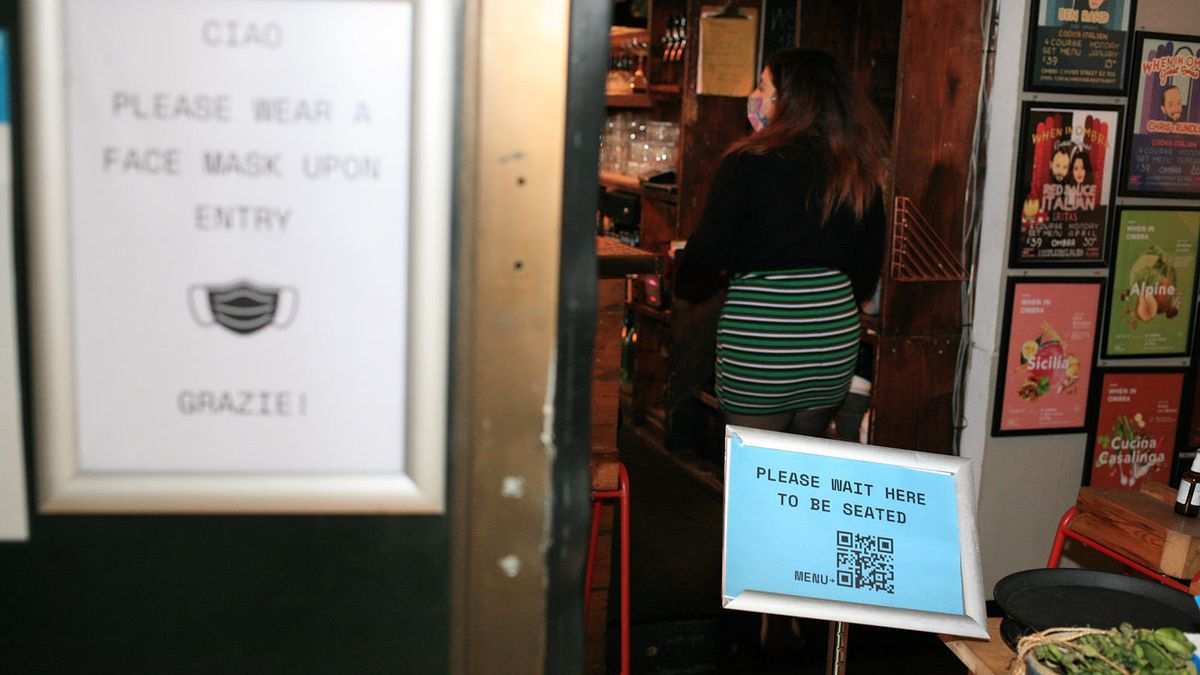 Italian restaurant Ombra restaurant in Hackney is preparing for the second lockdown with a new online shop