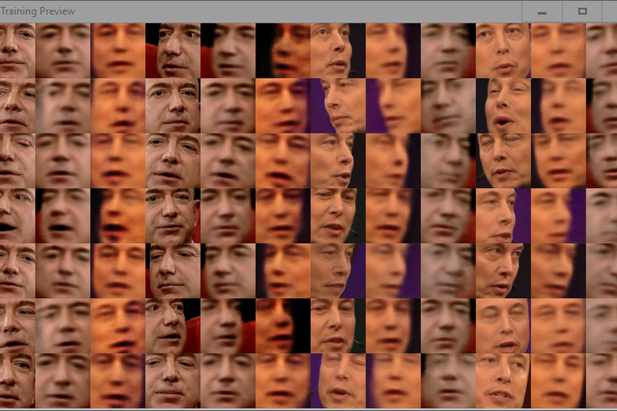 I'm using AI to face-swap Elon Musk and Jeff Bezos, and I'm