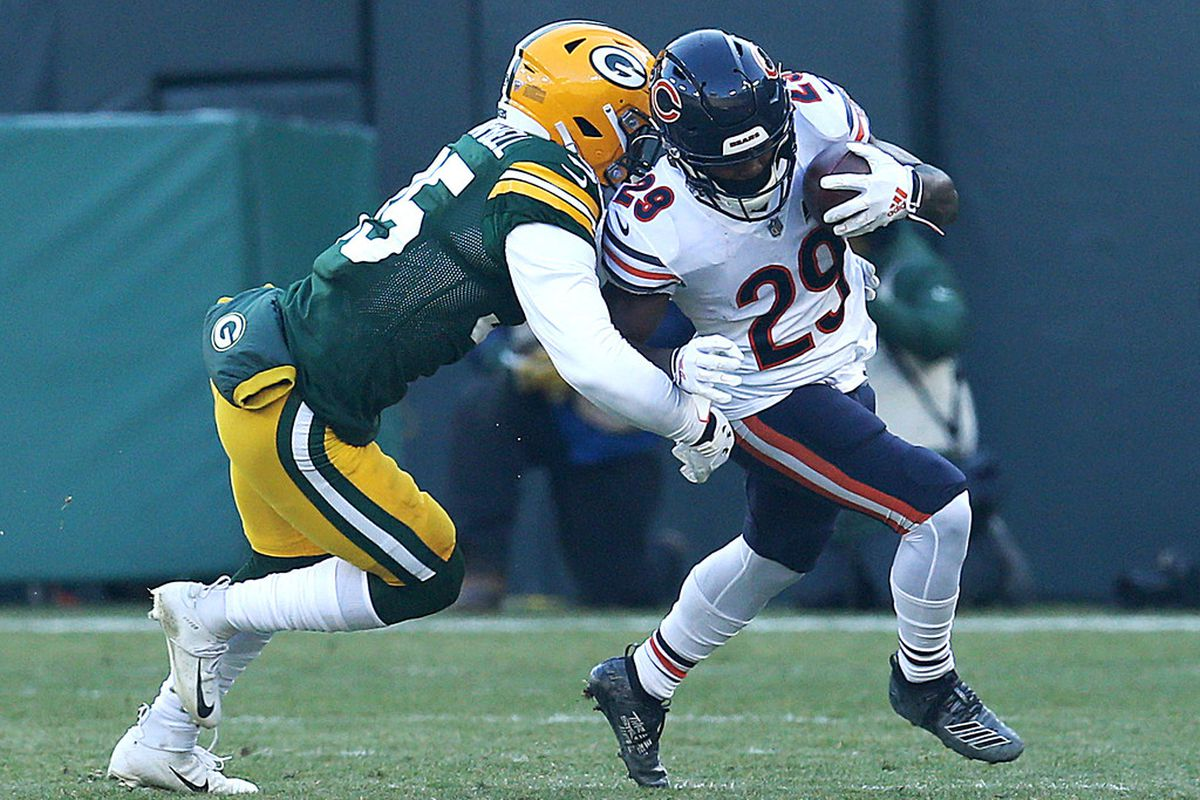 Chicago Bears Highlights From Loss To Green Bay Packers Chicago Sun Times