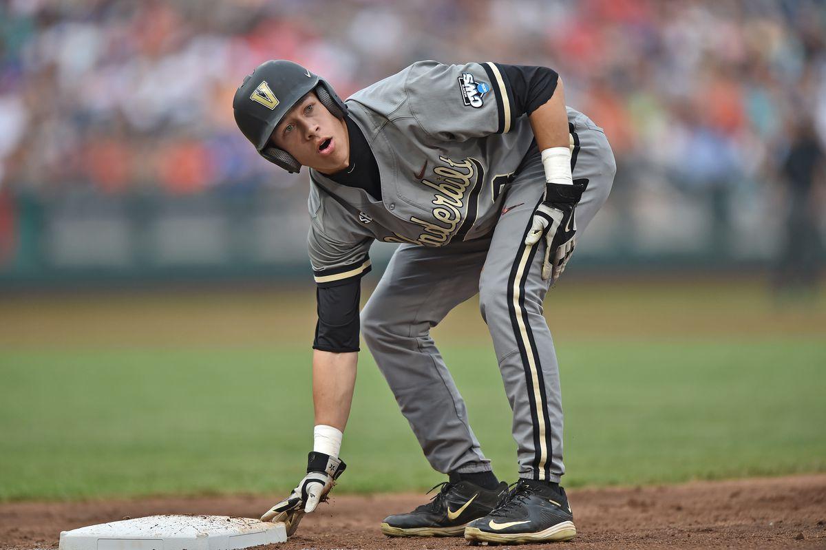 College World Series - Virginia v Vanderbilt - Game Two