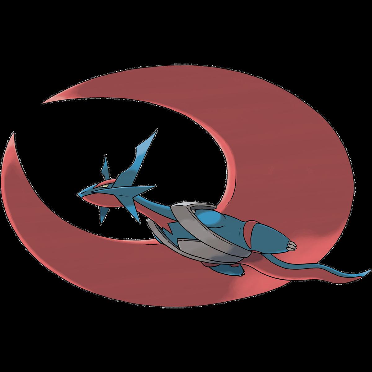 An image of Mega Salamence