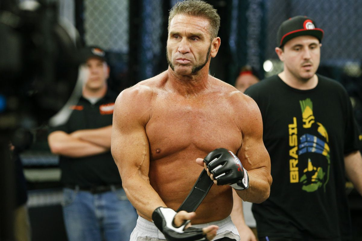 dan severn_After years of feuding, Ken Shamrock will have his brother Frank in his corner against ...
