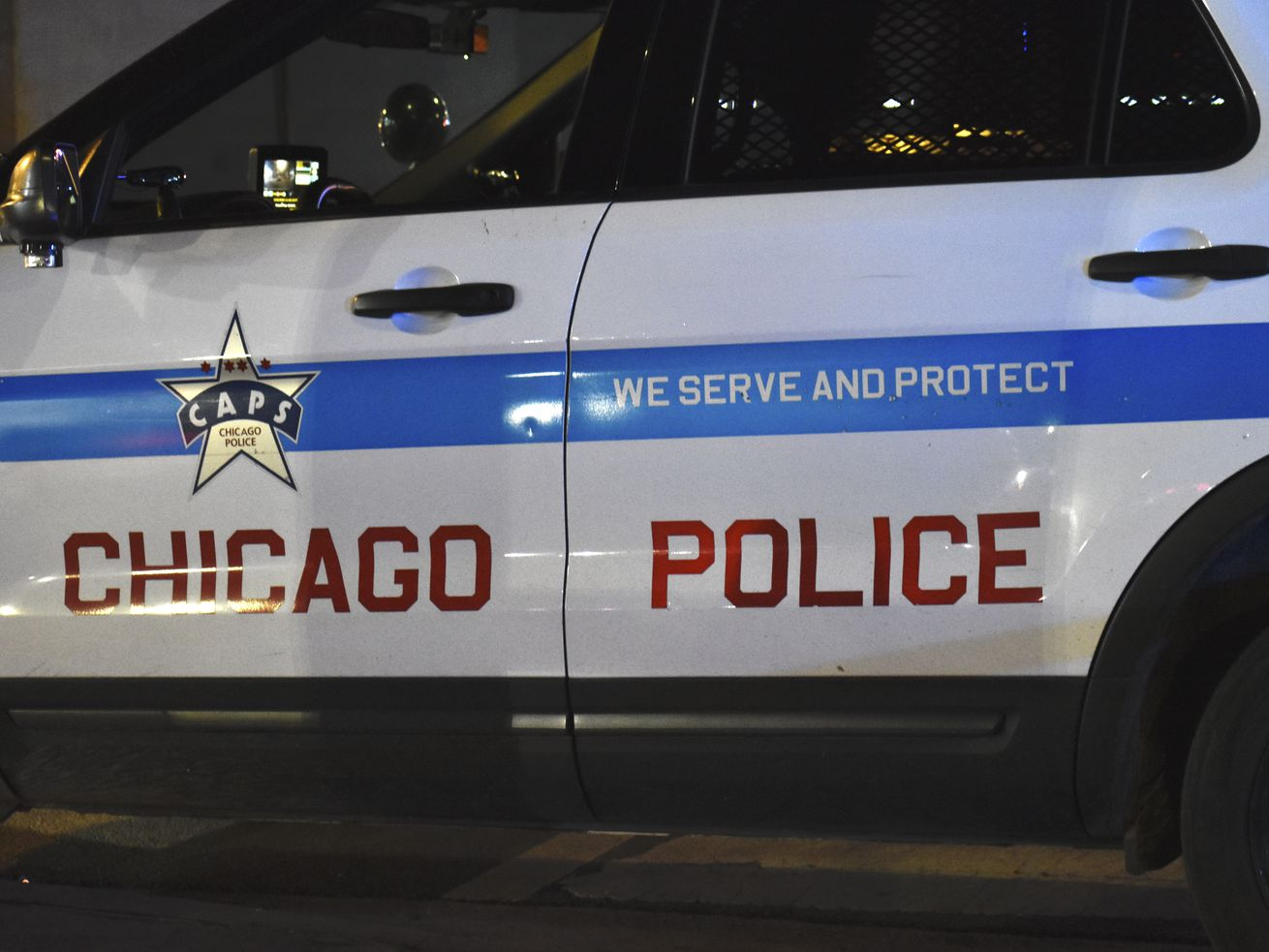 One person is in custody after shots were fired at Chicago police officers April 22, 2021 in West Englewood.