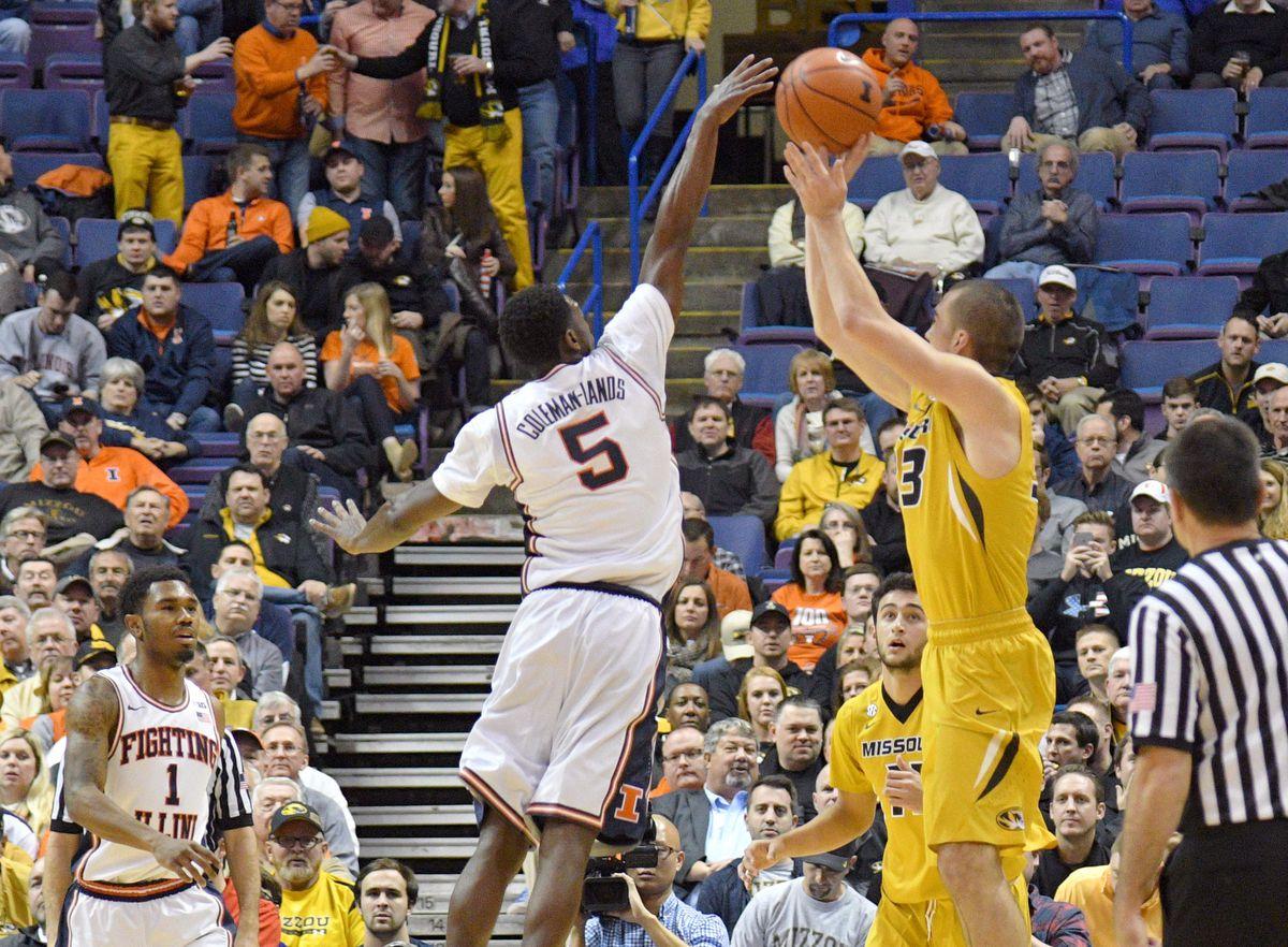 NCAA Basketball: Missouri vs Illinois