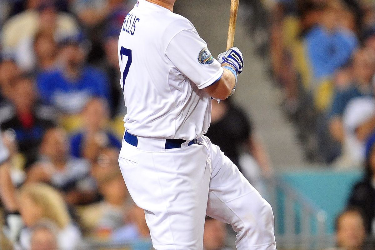 A.J. Ellis said he was most proud of this at-bat, his RBI single in the fifth inning, rather than his two home runs on Friday night.