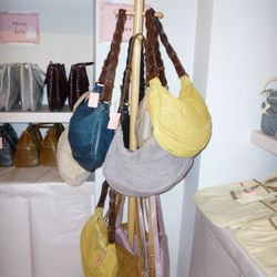 The Cecilia bags on top and the two-tone Bailey saddle bags below.