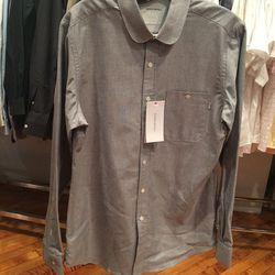 Men's classic oxford shirt, $90