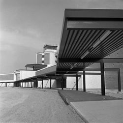The Salt Lake International Airport is pictured Jan. 27, 1961, while still under construction.