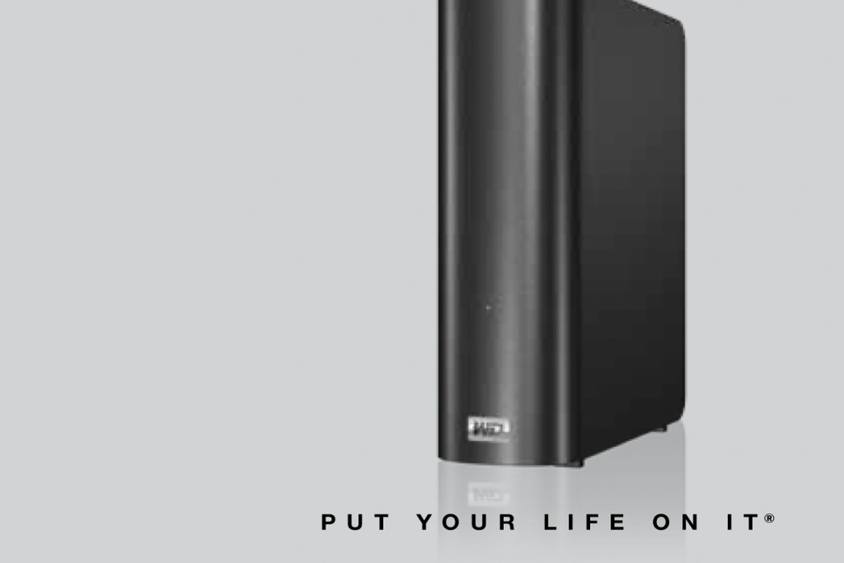 """Picture of the NAS with the text """"Put your life on it"""""""