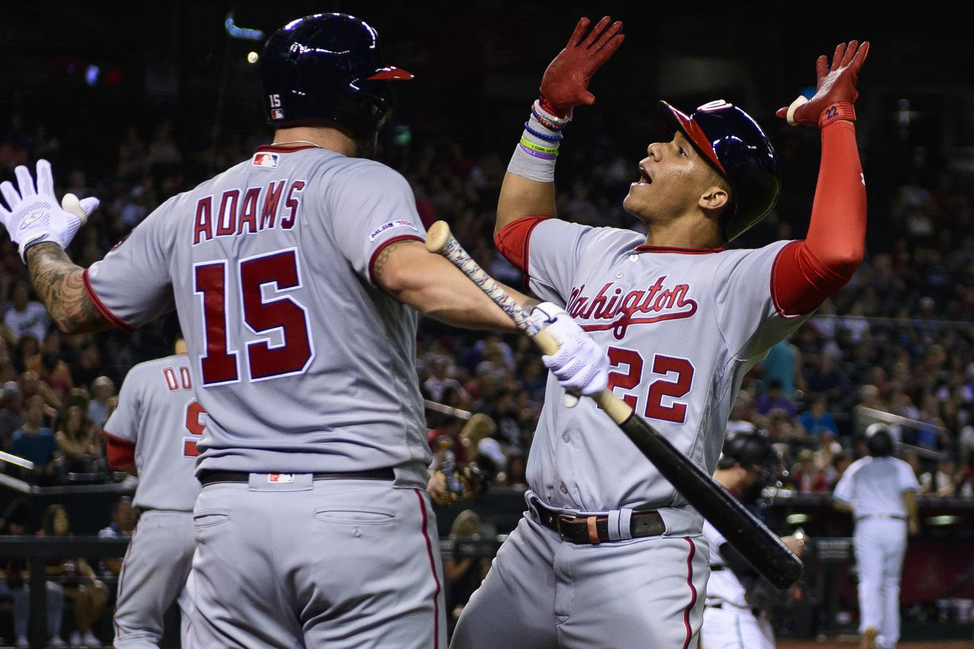 new products 85c43 f9af3 Washington Nationals shut Arizona Diamondbacks out in series ...
