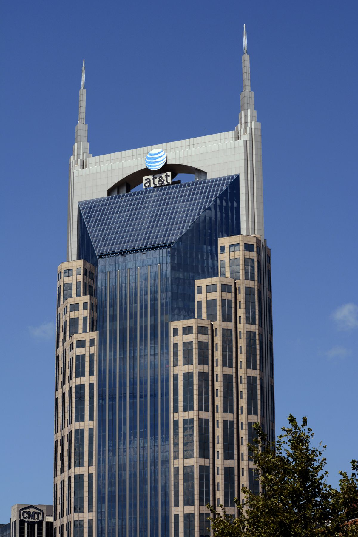 AT&T Building in Nashville, TEnnessee USA