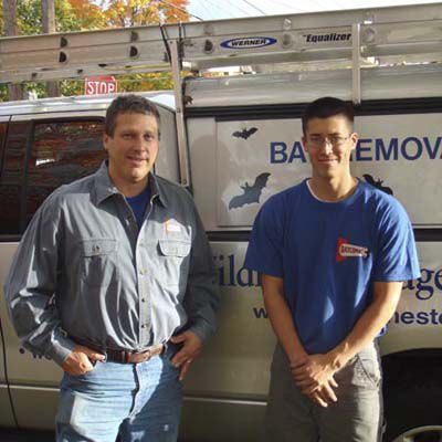Bat Removal Specialists Jim Dreisacker And Neal Trigger