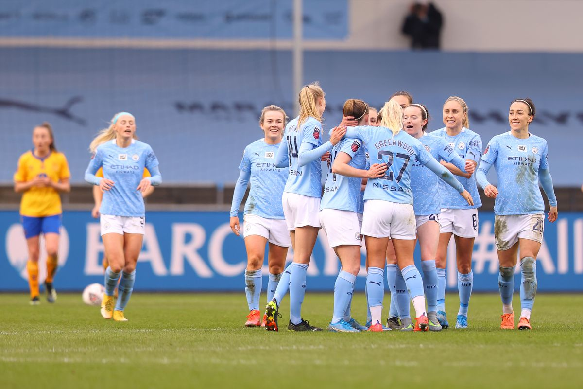 Manchester City Women v Everton Women - Barclays FA Women's Super League