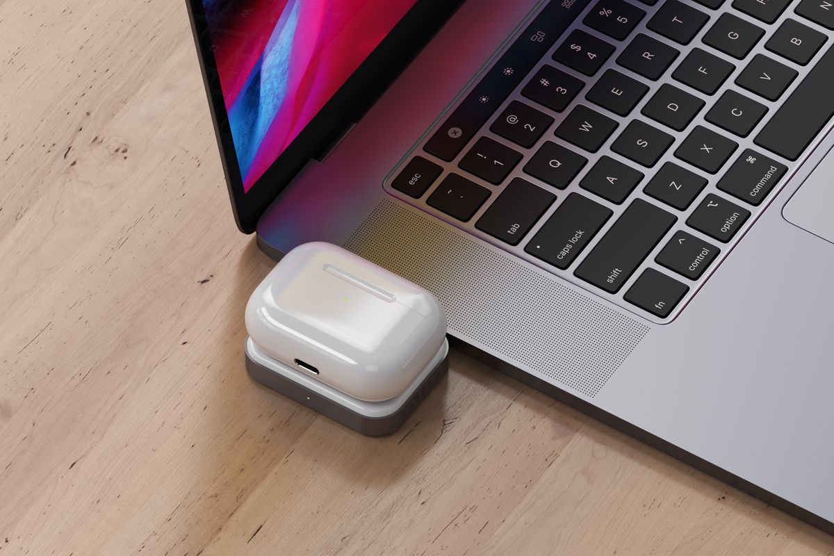 This Airpods Charger Is For Anyone Who Really Hates Wires The Verge