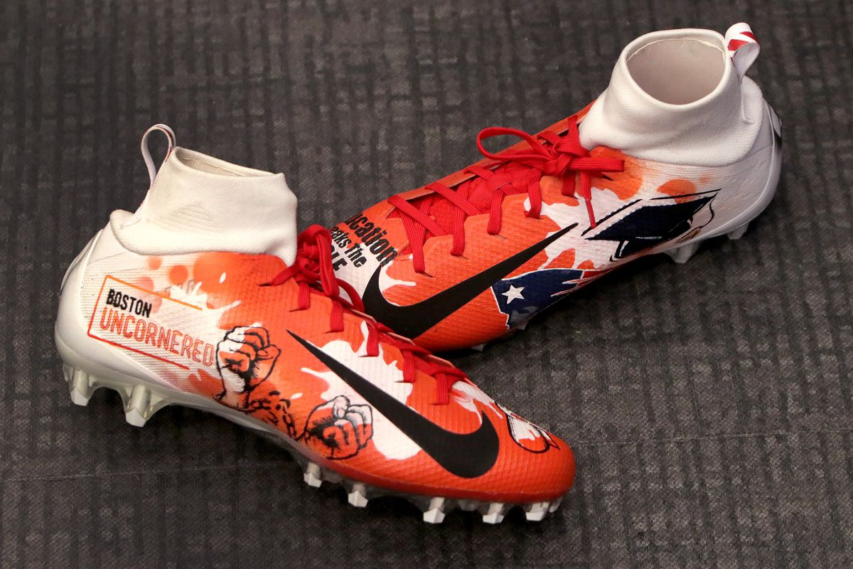 New England Patriots Design Cleats For NFLs My Cause, My Cleats Campaign