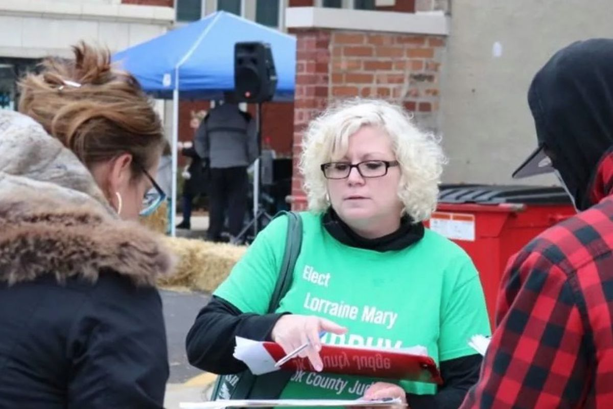 Judicial candidate Lorraine Mary Murphy.