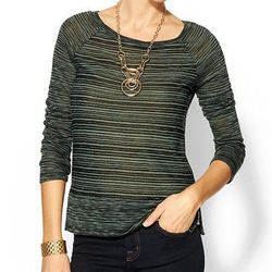"""<b>Splendid</b> West Village Sweater in Camo/Black, <a href=""""http://piperlime.gap.com/browse/product.do?cid=100237&vid=1&pid=959387012"""">$74</a> at Piperlime Soho"""
