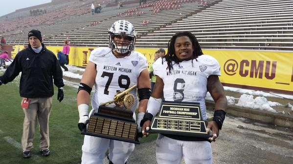 Michigan MAC Trophy & Victory Cannon Trophy