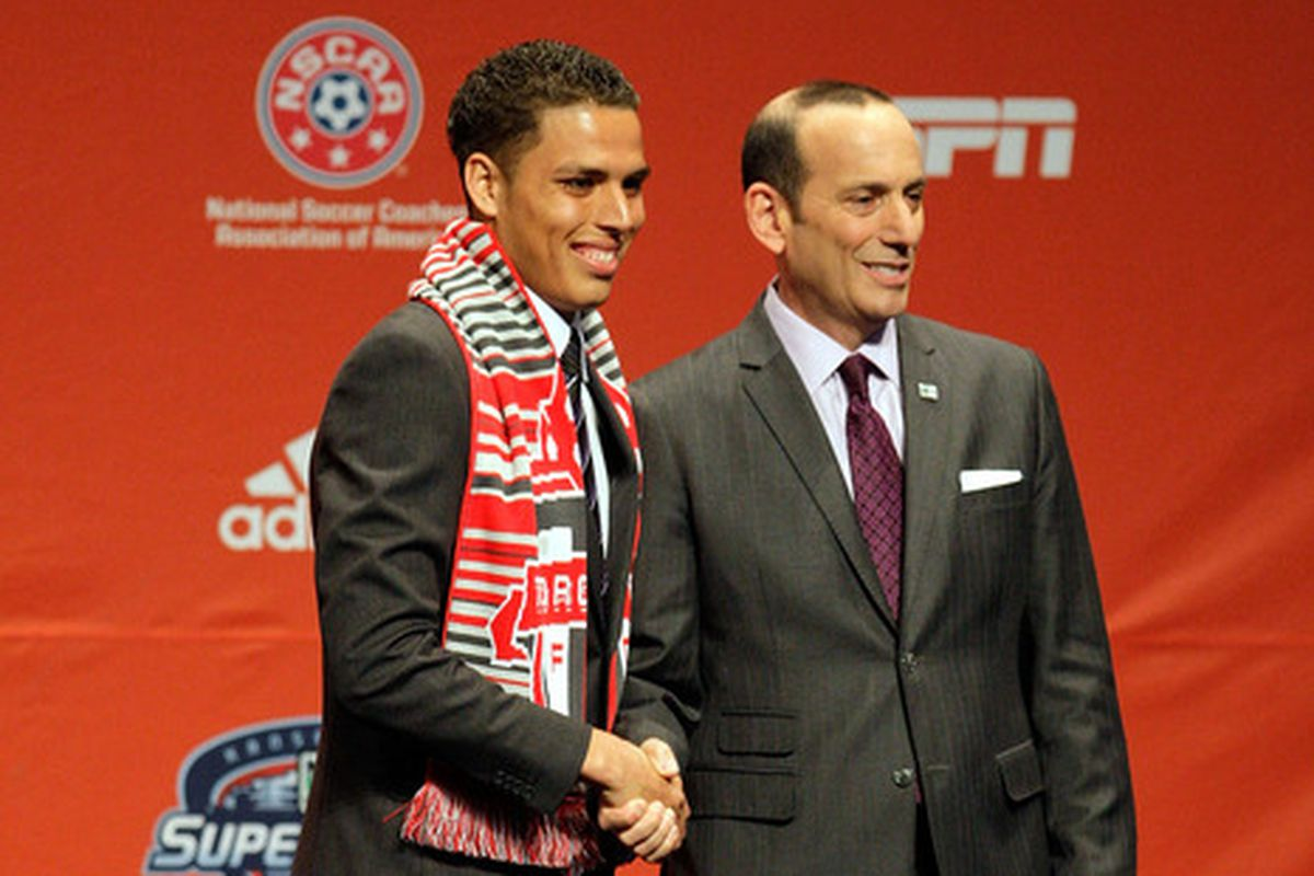 Last year Toronto took Luis Silva 4th overall.  Who might be shaking hands with Garber in a TFC scarf this January?