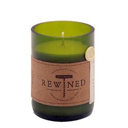 """<b>Rewined</b> Candle in Champagne, <a href=""""http://www.delphiniumhome.com/collections/candles/products/rewined-candle-champagne"""">$27.95</a> at Delphinium Home"""