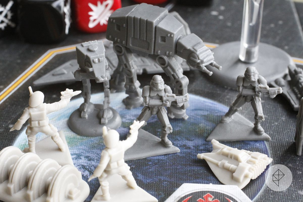 Star Wars: Rebellion is a great board game nearly crippled by an