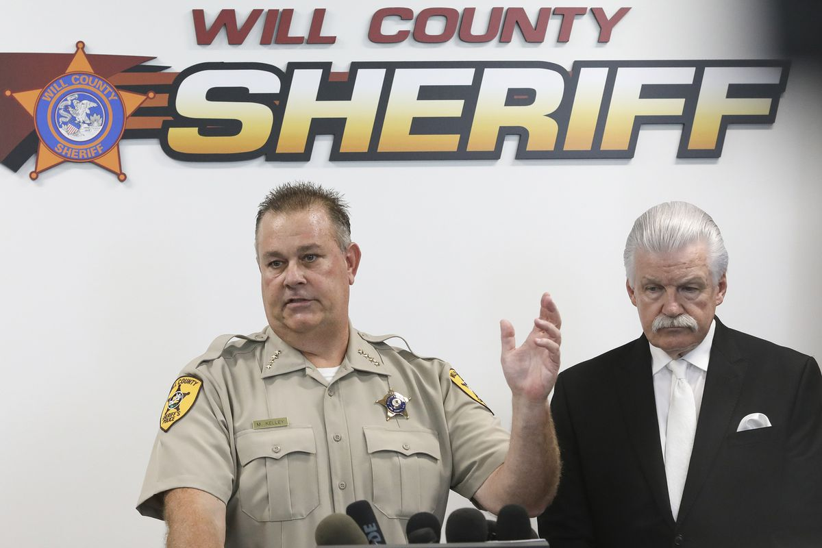 """""""I've never seen anything like this — ever,"""" Will County Sheriff Mike Kelley said."""