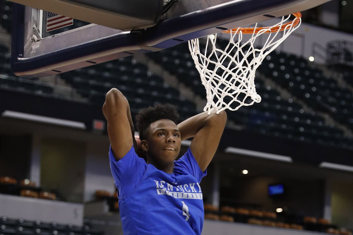 Kentucky Wildcats guard Hamidou Diallo during practice the day before the first round of the 2017 NCAA Tournament        Brian Spurlock-USA TODAY Sports