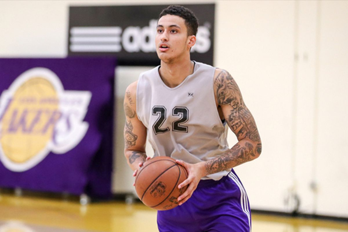 Kyle kuzma why lakers fans should be excited pacific takes for La lakers tattoo