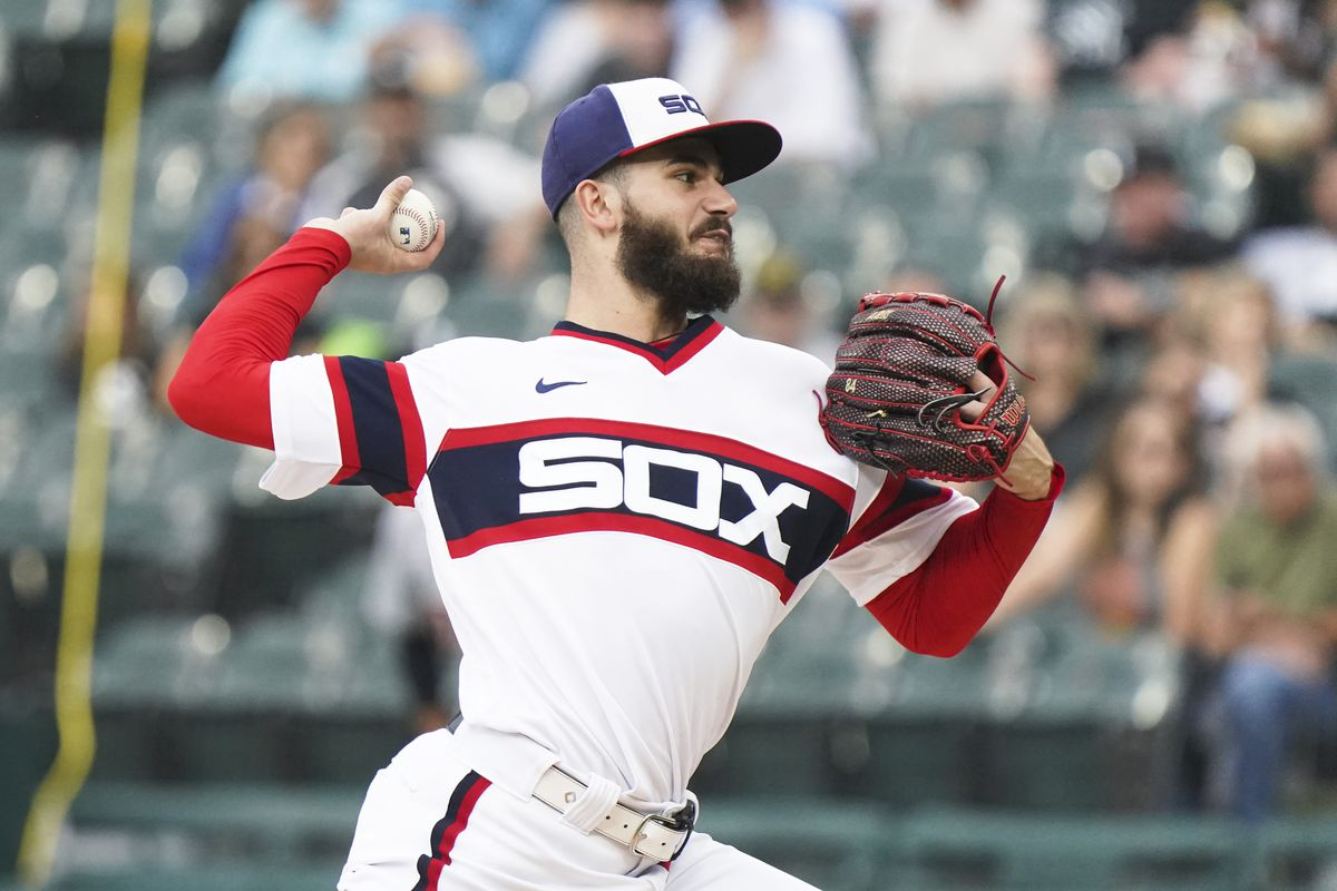 White Sox right-hander Dylan Cease had 226 strikeouts this season, ranking seventh in the majors and second in the American League (Blue Jays' Robbie Ray, 248).