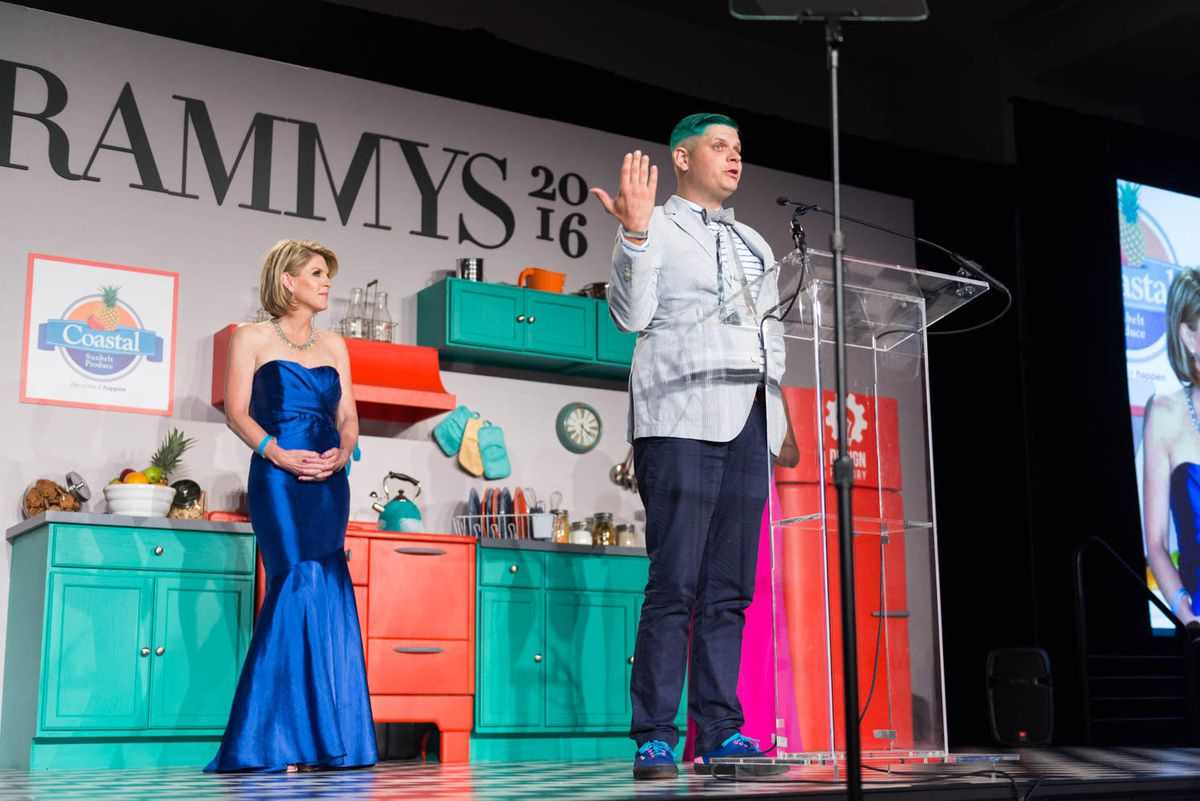 Sebastian Zutant at the Rammy Awards [Photo: R. Lopez]