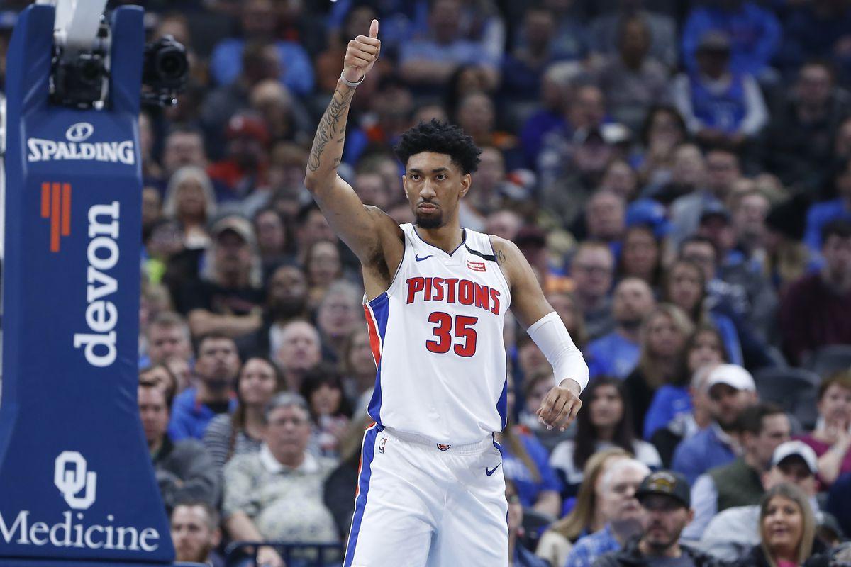 NBA: Detroit Pistons at Oklahoma City Thunder