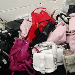 Bags on bags, literally.