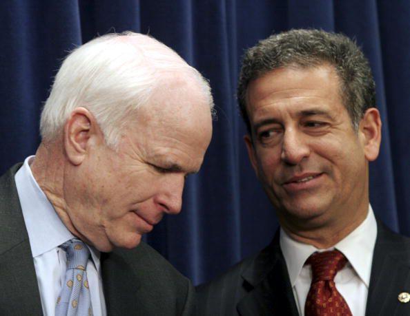 Senators John McCain and Russ Feingold