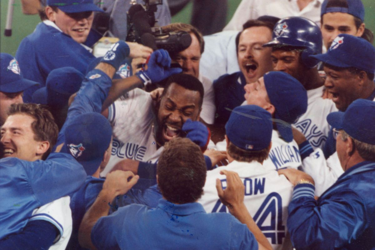 Blue Jays win World Series 1993. Photo taken by