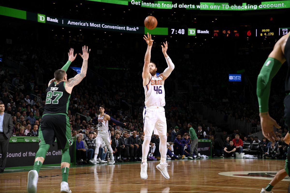 Phoenix Suns v Boston Celtics