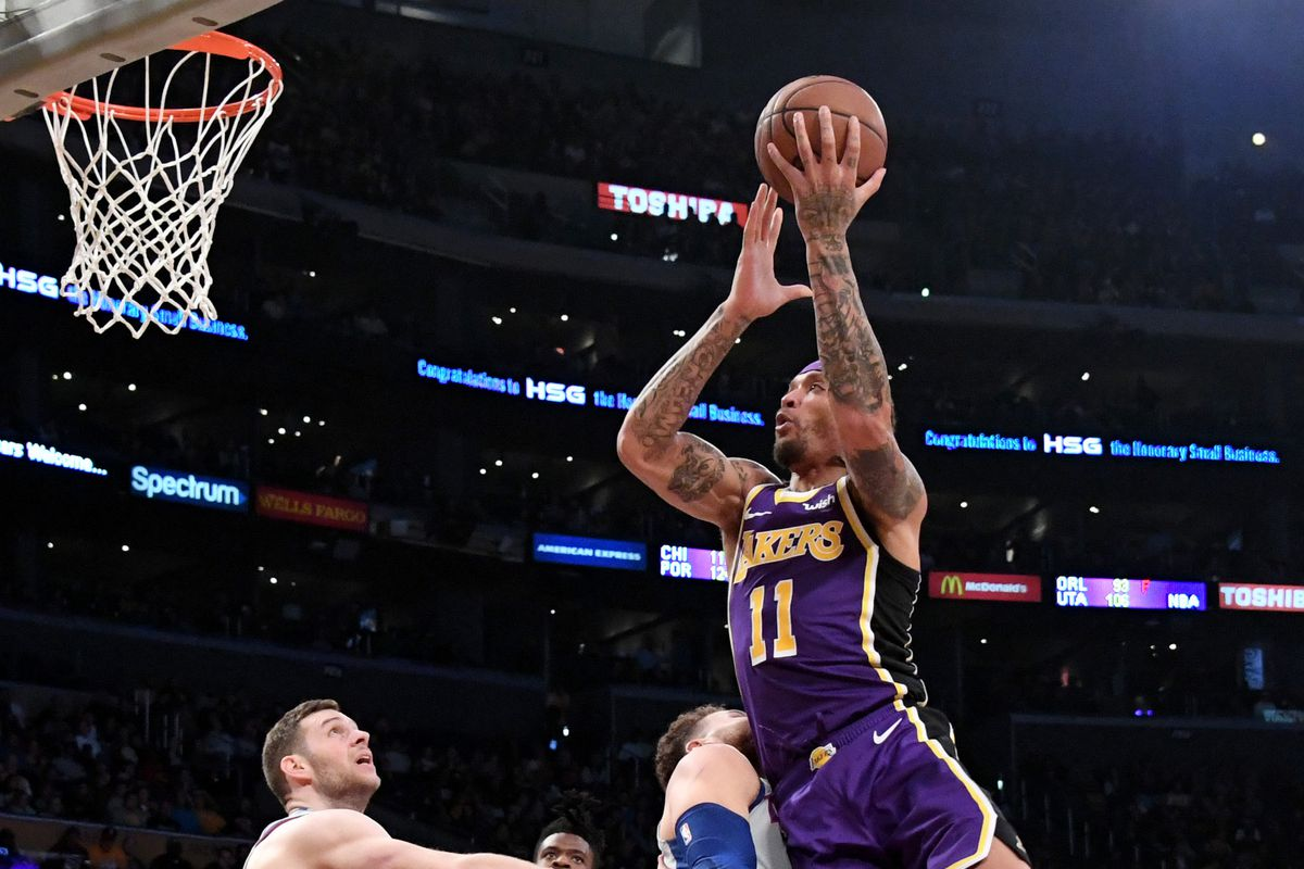 132a08eb601  Walking bucket  Michael Beasley has impressed Lakers with his readiness  despite missing a month