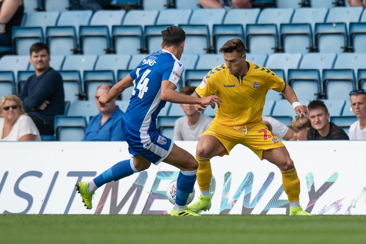 Gillingham v Bolton Wanderers - Sky Bet League One