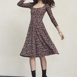 Noble dress in Dickens, $118 (also available in red and black)