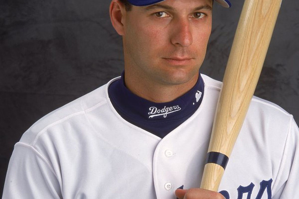 Dave Hansen will reportedly be joining the Dodger coaching staff as a hitting instructor (<em>Photo: Matthew Stockman   Getty Images, 2001</em>)