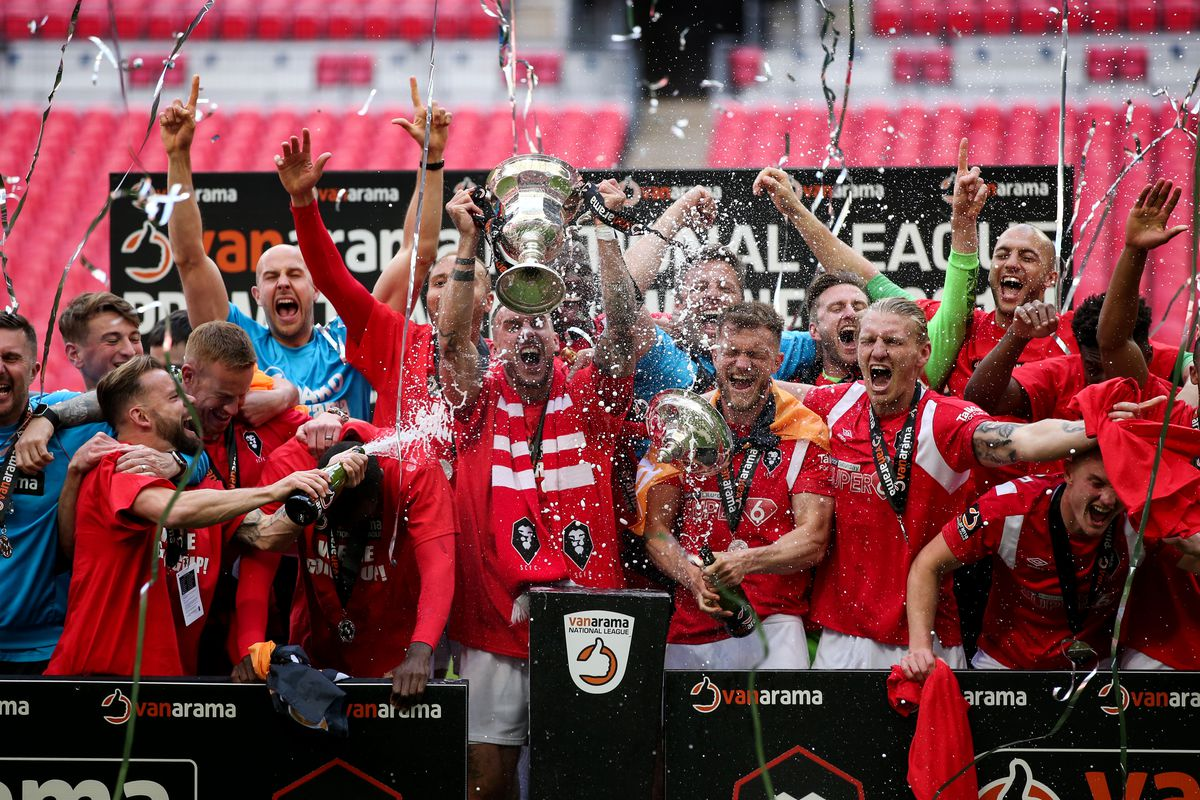 AFC Fylde v Salford City - Vanarama National League Play Off Final