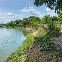 The Southeast corner of the Austin Green development property Tesla is considering buying for its Cybertruck factory runs up agains Texas' Colorado River.