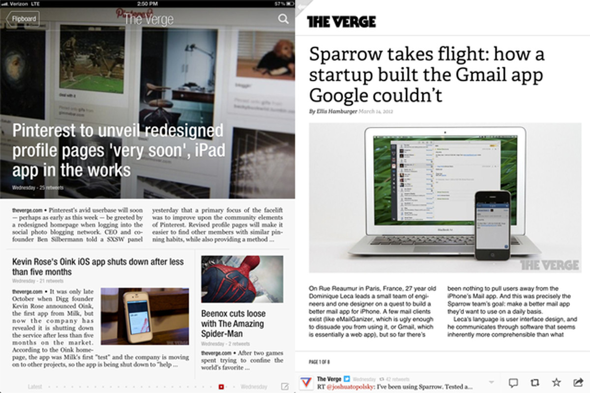 The Verge is now available on Flipboard - The Verge