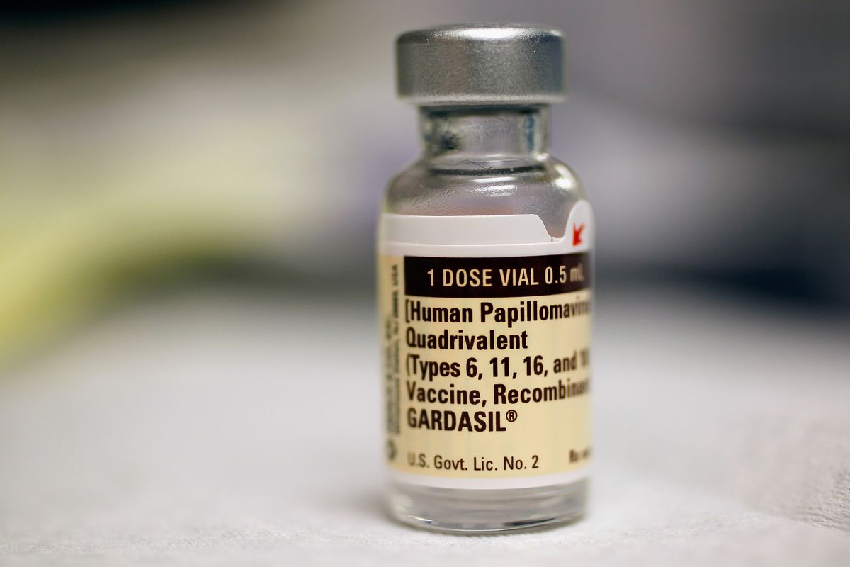 The HPV vaccine.