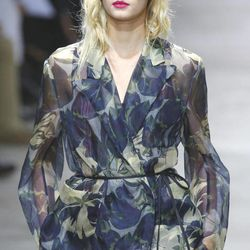 A model wears a creation by Belgian fashion designer Dries van Noten for the fashion house's Spring Summer 2013 ready to wear collection, for Fashion Week, in Paris, Wednesday, Sept. 26, 2012.