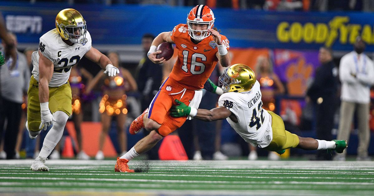 Notre Dame Football Opponent Quick Look Preview: Clemson ...