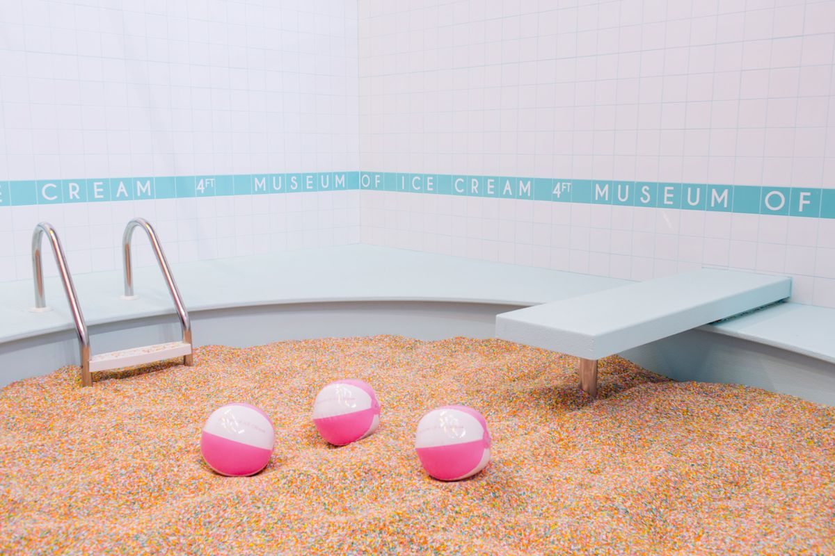 Inside the Museum of Ice Cream, Showering SF with Sprinkles This ...