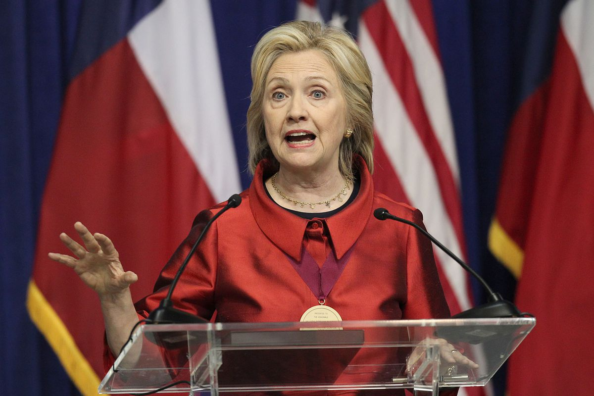 Democratic presidential candidate Hillary Clinton Hillary Rodham Clinton speaks at the Inaugural Barbara Jordan Gold Medallion at Texas Southern University on June 4, 2015, in Houston, Texas.