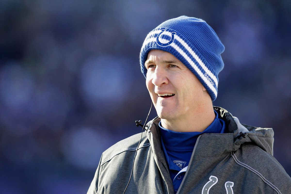 Peyton Manning needs a new team. Who will it be?  (Photo by Rob Carr/Getty Images)