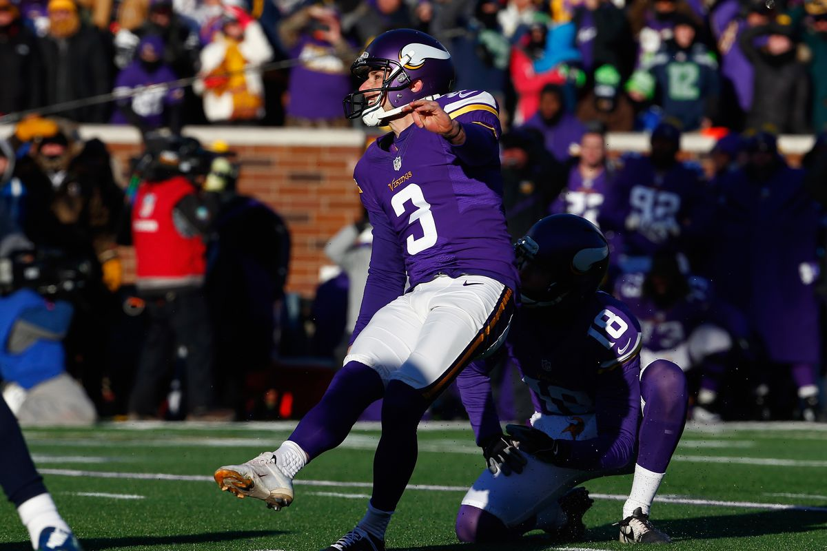 low priced 49a56 dfb4d What if Blair Walsh didn't choke vs. the Seahawks in the ...